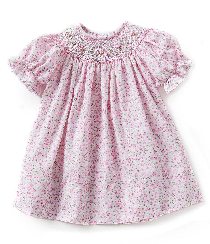 Edgehill Collection Baby Girls 3-24 Months Floral Dress