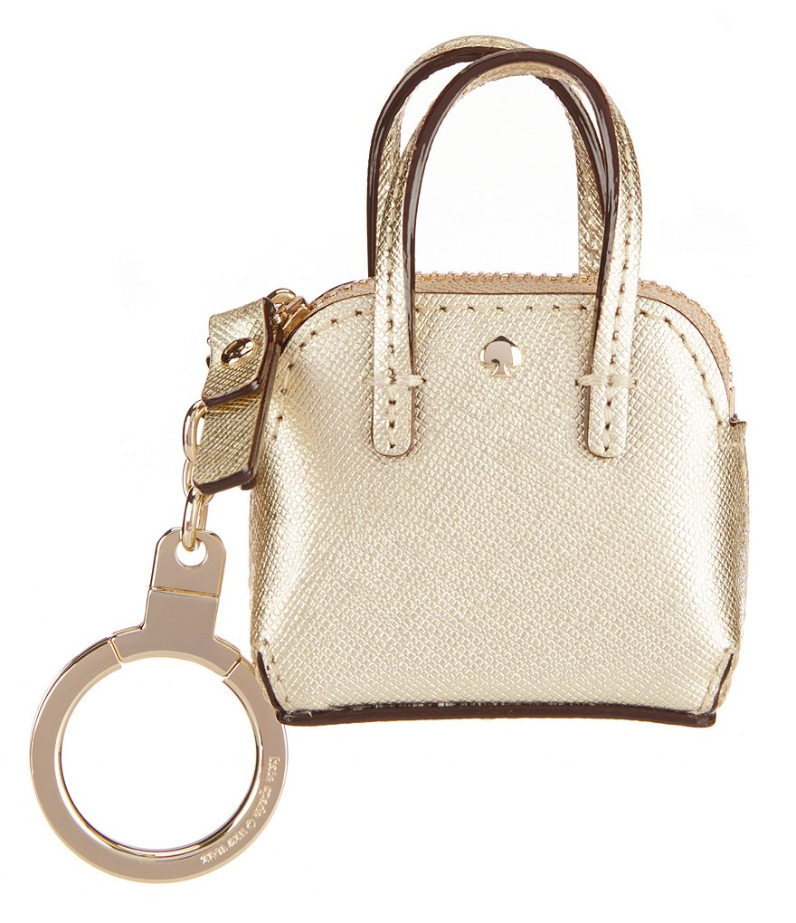 kate spade new york Maise Metallic Keychain