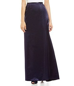 J.R. Nites Satin Mermaid Skirt