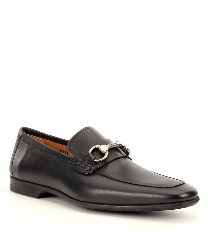 Magnanni Men´s Rafa 2 Leather Moc-Toe Dress Shoes