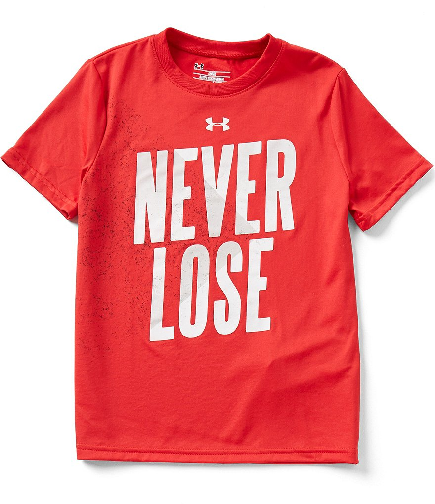 Under Armour Big Boys 8-20 Never Lose Short-Sleeve Graphic Tee