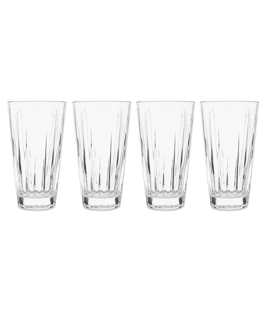 Mikasa Revel Highball Glasses, Set of 4