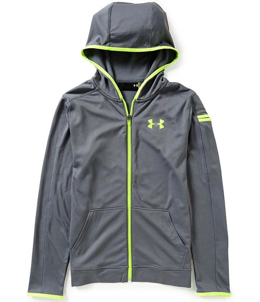 Under Armour Big Boys 8-20 Coldgear Fusion Full-Zip Hoodie