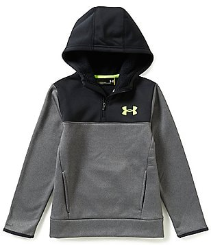 Under Armour Big Boys 8-20 Armour Fleece Storm Quarter-Zip Hoodie