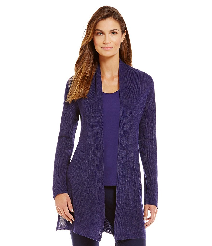 Eileen Fisher Petites Straight Long Cardigan