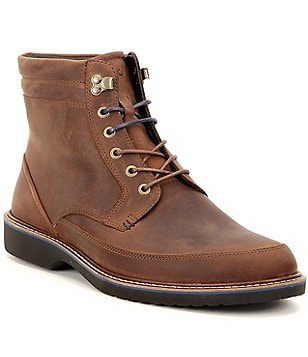 ECCO Ian Nubuck Leather Boots