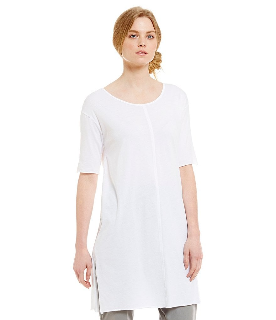 Eileen Fisher Round Neck Tunic