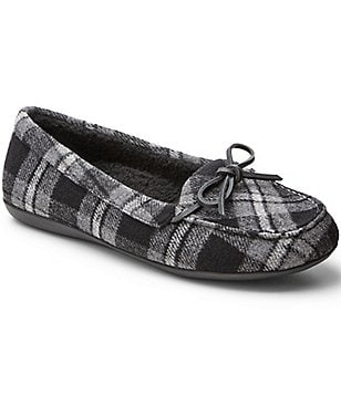 Vionic® with Orthaheel® Technology Cozy Ida Plaid Slippers