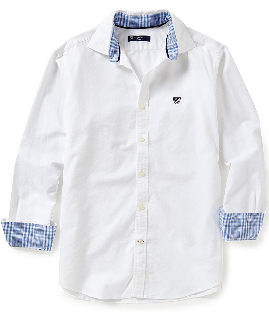 Cremieux Big & Tall Solid Oxford Shirt