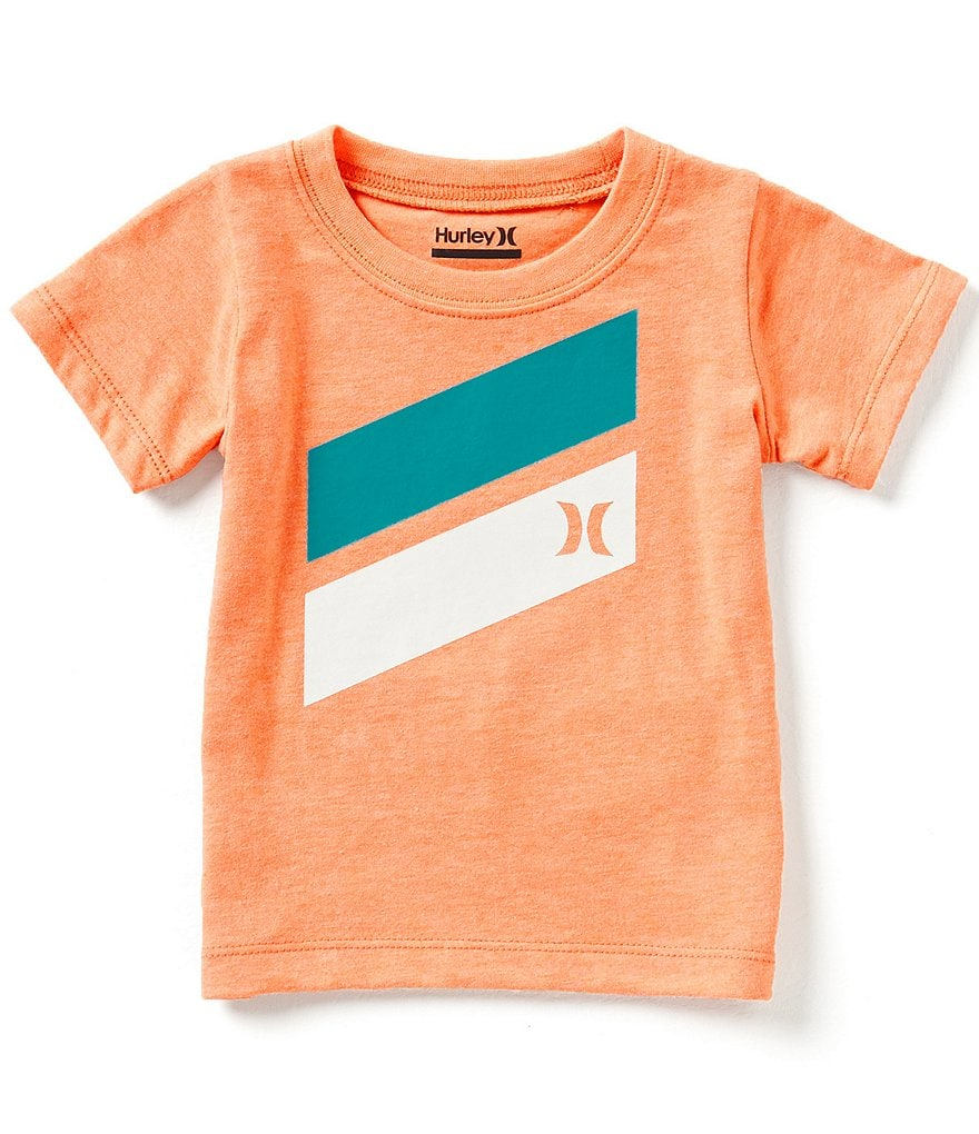 Hurley Baby Boys 12-24 Months Icon Slash Short-Sleeve Graphic Tee