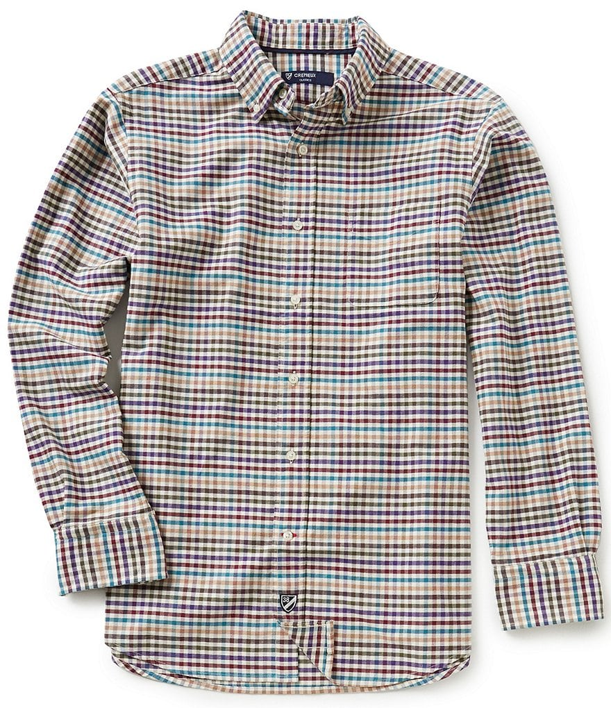 Cremieux Big & Tall Checked Oxford Shirt