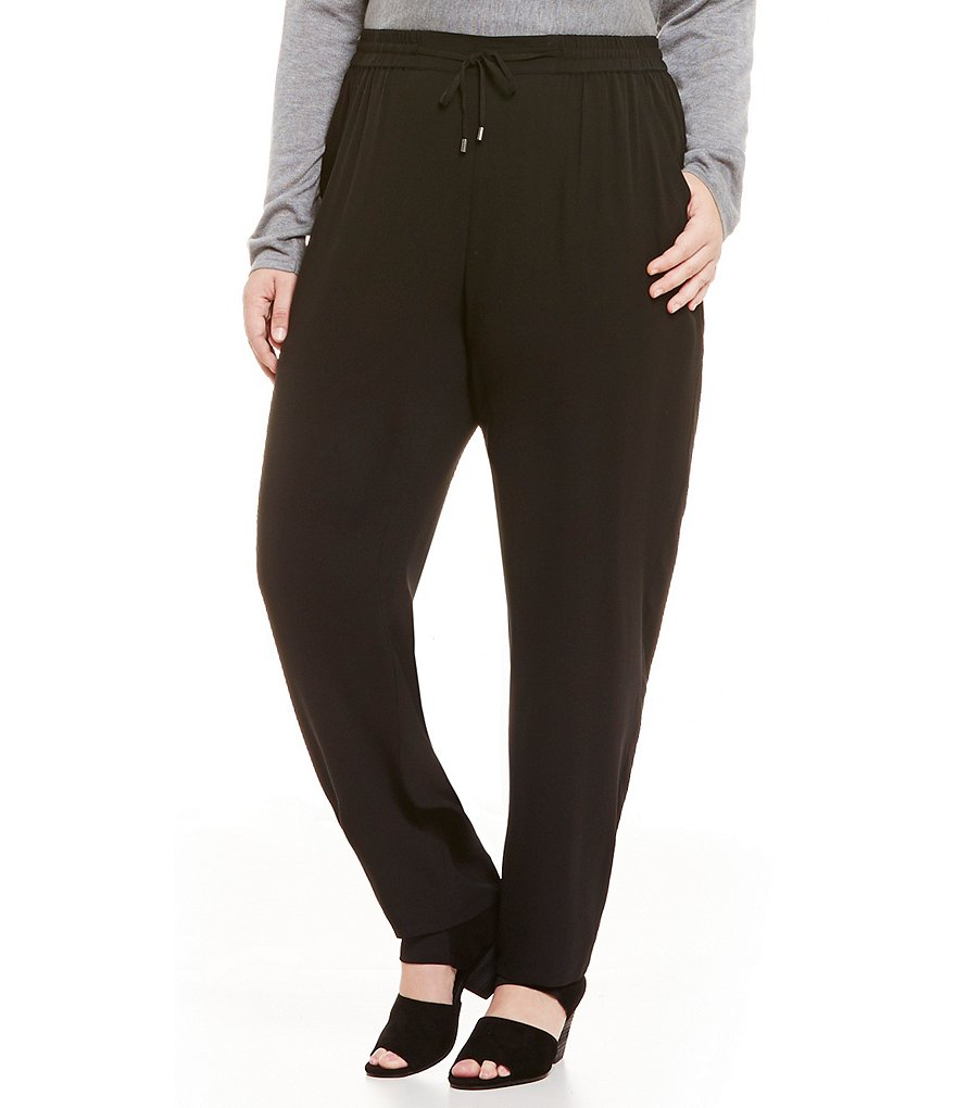 Eileen Fisher Plus Ankle Pants