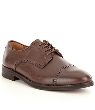 Polo Ralph Lauren Men's Morgfield Cap Toe Dress Shoes