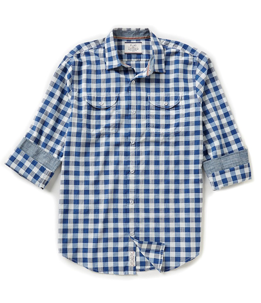 Flag & Anthem New Haven Snap-Front Gingham Shirt