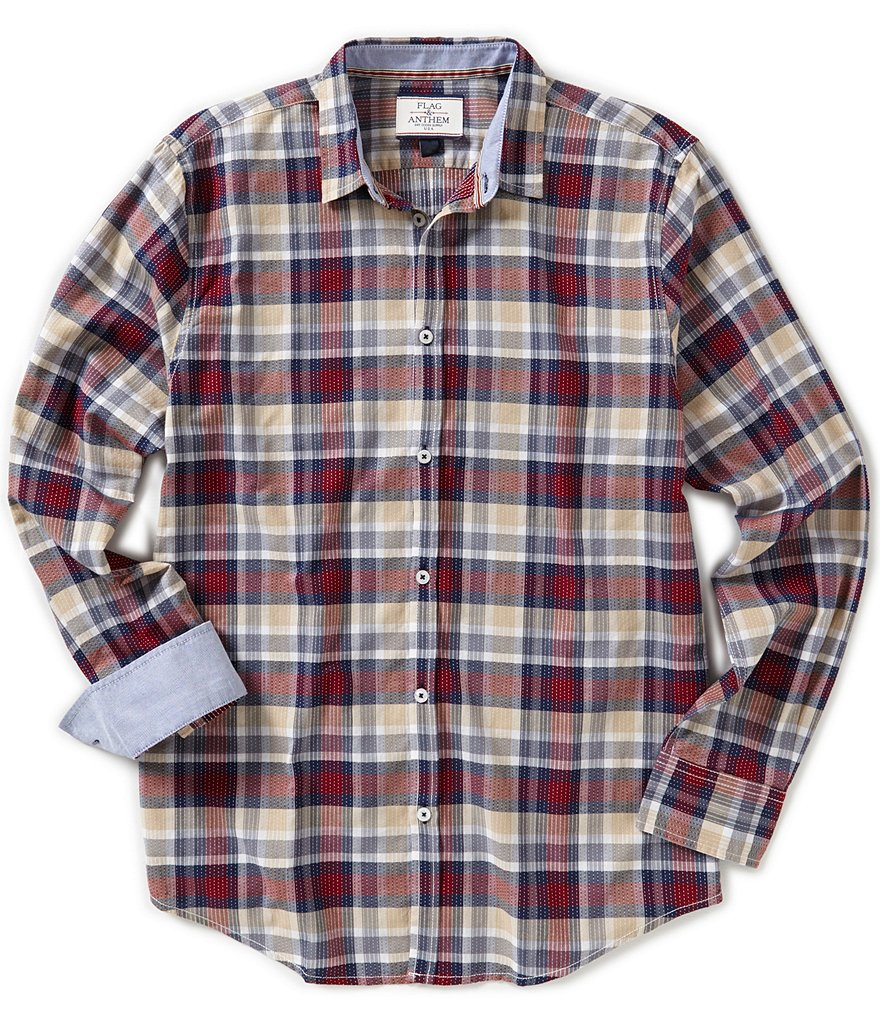 Flag & Anthem Medford Plaid Long-Sleeve Woven Shirt