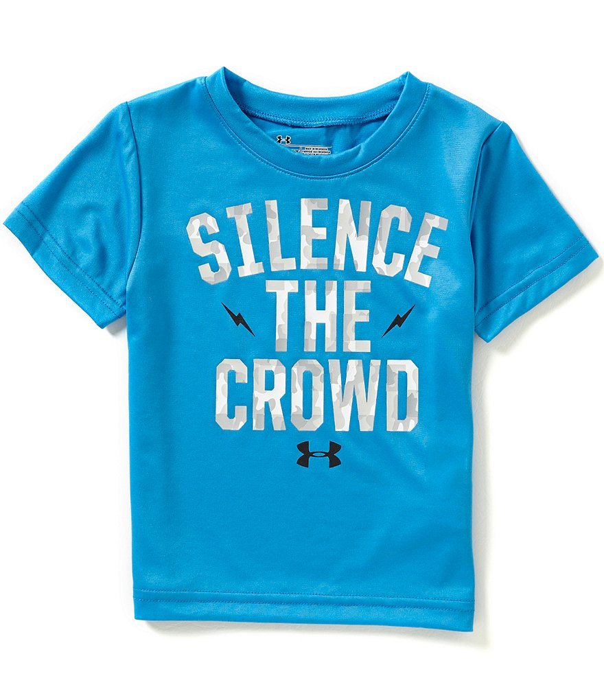 Under Armour Baby Boys 12-24 Months Silence The Crowd Graphic Tee