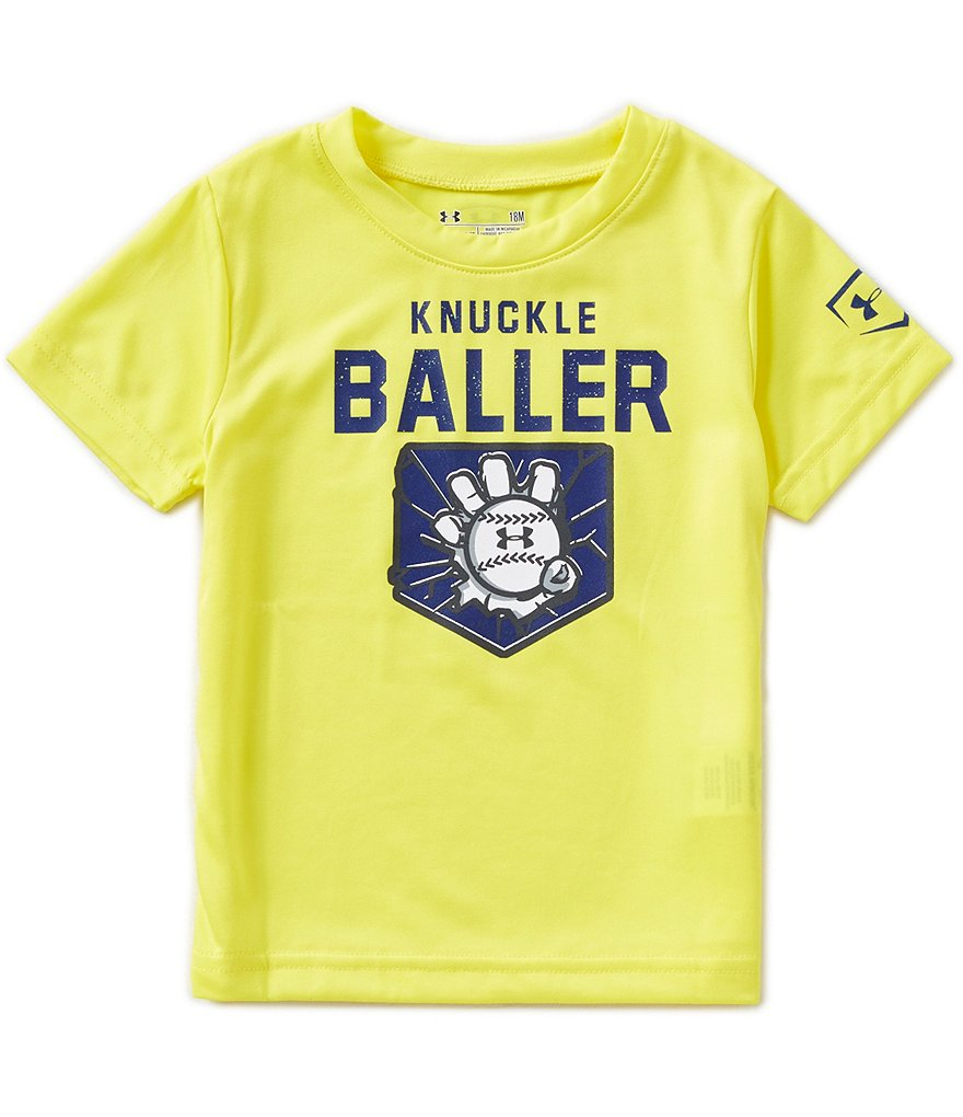Under Armour Baby Boys 12-24 Months Knuckle Baller Graphic Short-Sleeve Tee