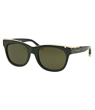 Tory Burch Brow Bar Wayfarer Sunglasses