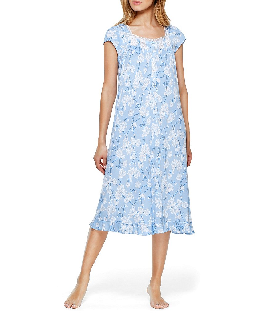 Eileen West Floral Waltz Nightgown