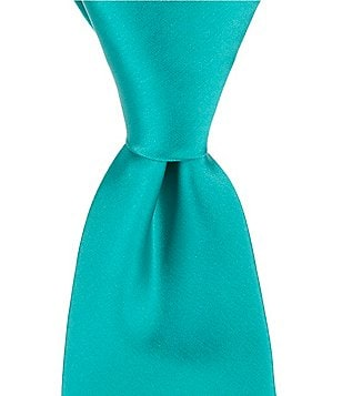 Murano Solid Prom Narrow Silk Tie