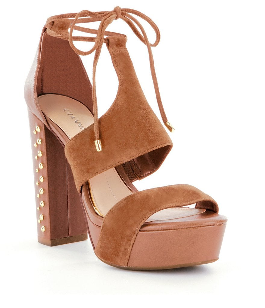 Gianni Bini Addi Block Heel Sandals