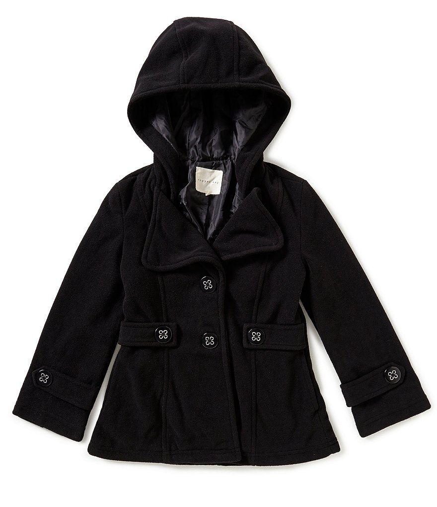 Copper Key Big Girls 7-16 Hooded Trench Coat