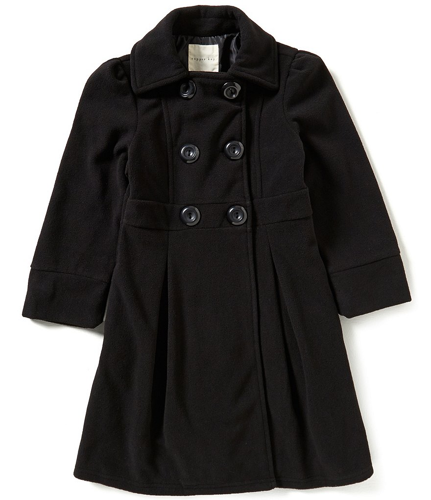 Copper Key Big Girls 7-16 Long Peacoat