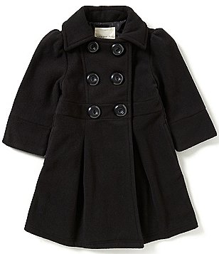 Copper Key Little Girls 2T-6X Long Peacoat
