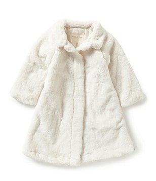 Copper Key Little Girls 2T-6X Plush Faux Fur Jacket