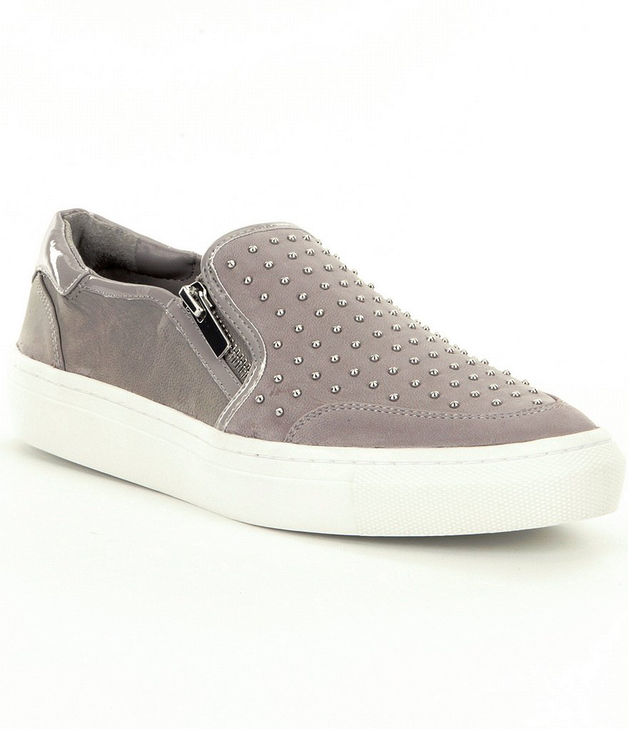 GB Eye-Candee Studded Slip On Sneakers
