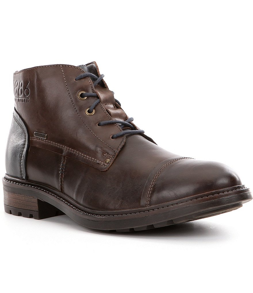 Josef Seibel Oscar 23 Waterproof Men´s Cap Toe Boots