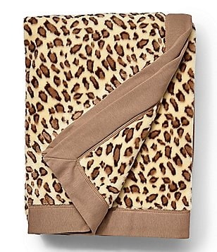 UGG® Duffield Leopard-Print Plush Throw
