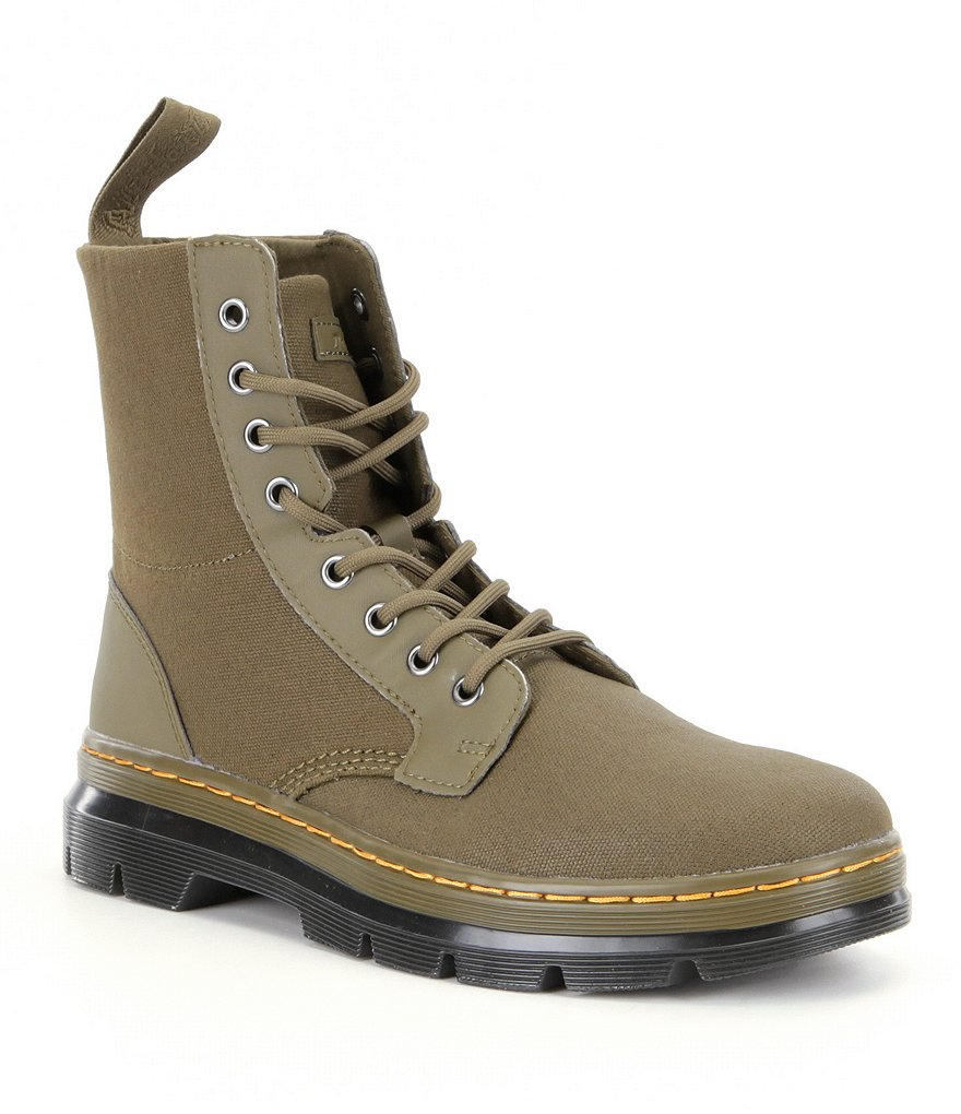 Dr. Martens Combs 8-Eye Boots