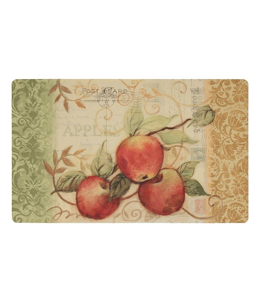 Mohawk Home Apple & Scroll Postcard Comfort Foam Kitchen Mat