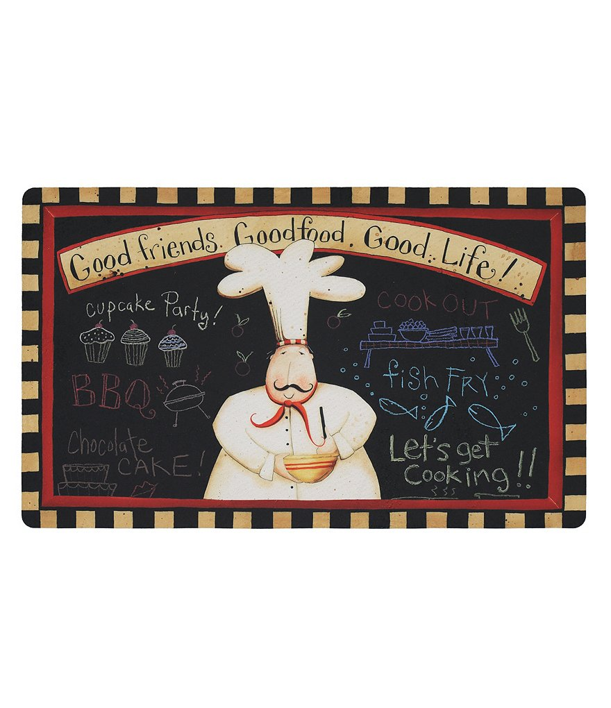 Mohawk Home Good Friends, Food & Life Comfort Foam Kitchen Mat