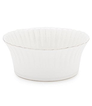 Costa Nova Village Collection Ribbed Stoneware Accent Cereal Bowl