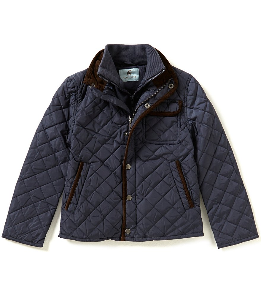 Class Club Big Boys 8-20 Quilted Nylon Jacket