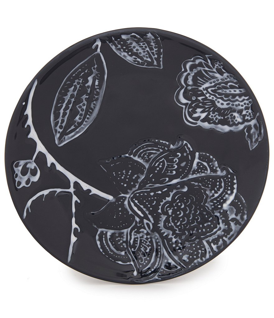 Southern Living Vine Floral Stoneware Salad Plate