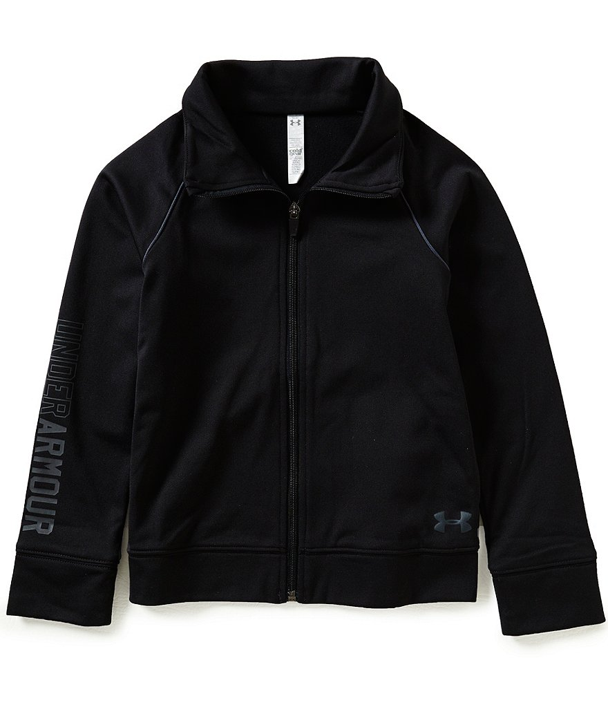 Under Armour Big Girls 7-16 Rival Warm-Up Jacket