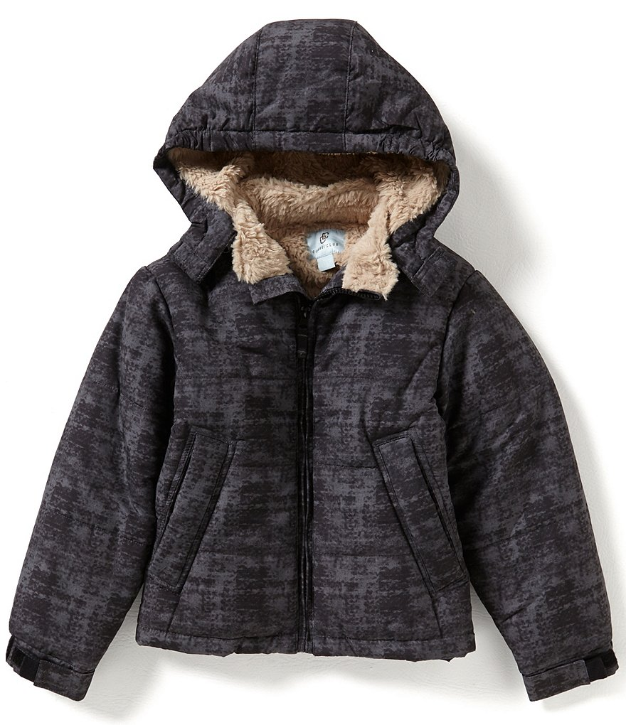 Class Club Big Boys 8-20 Printed Puffer Coat