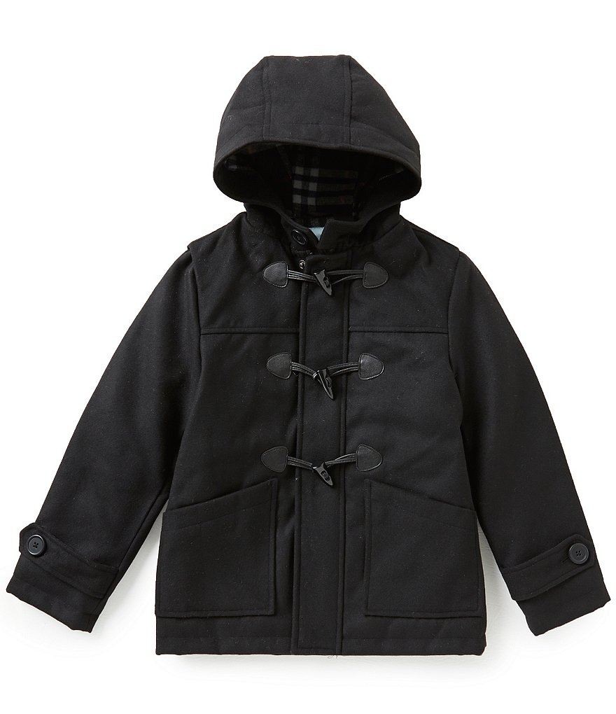 Class Club Big Boys 8-20 Flannel Duffle Coat