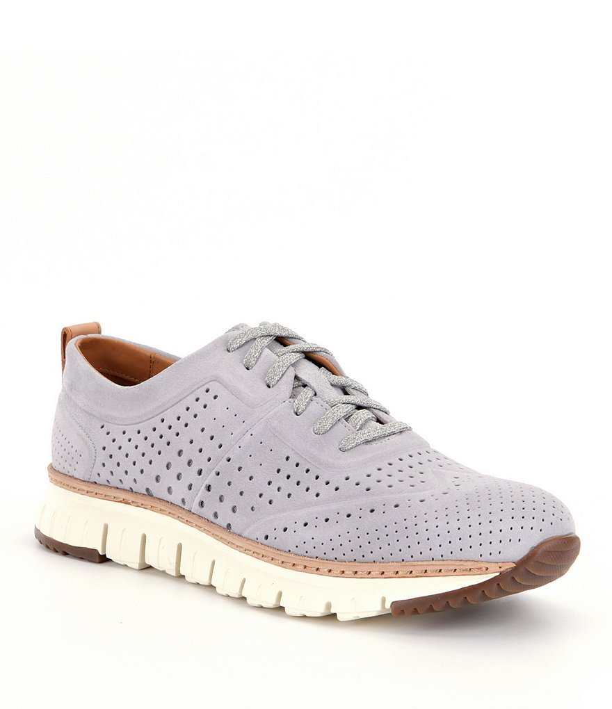 Cole Haan Men´s Zerogrand Laser Perforated Suede Sneakers