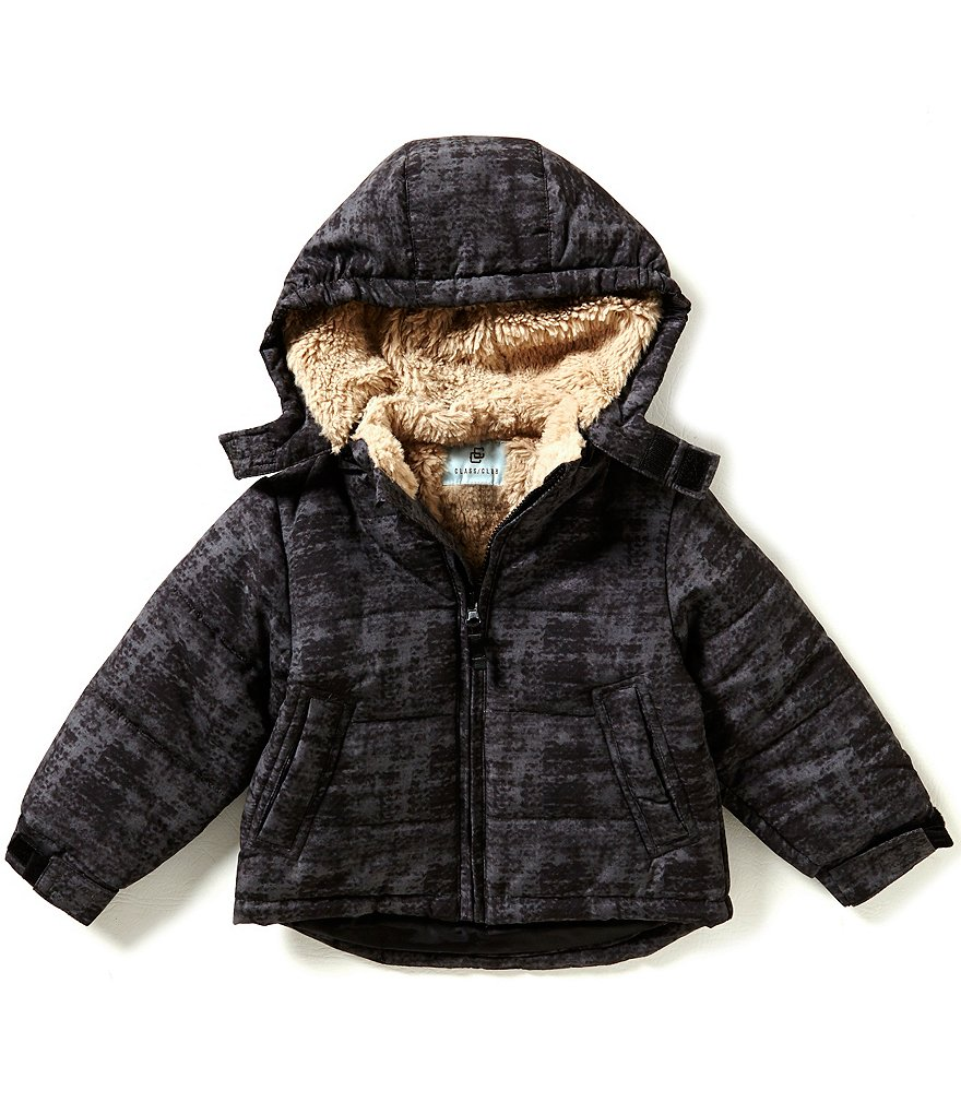 Class Club Little Boys 2T-7 Printed Puffer Coat