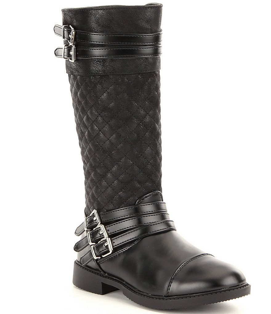 Kenneth Cole Reaction Girls´ Steffi Triple Tall Quilted Boots