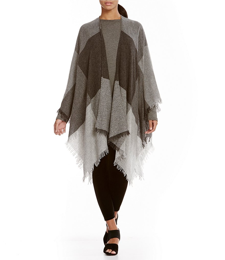 Eileen Fisher Open Mid Length Serape
