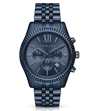 Michael Kors Lexington Chronograph & Date Bracelet Watch