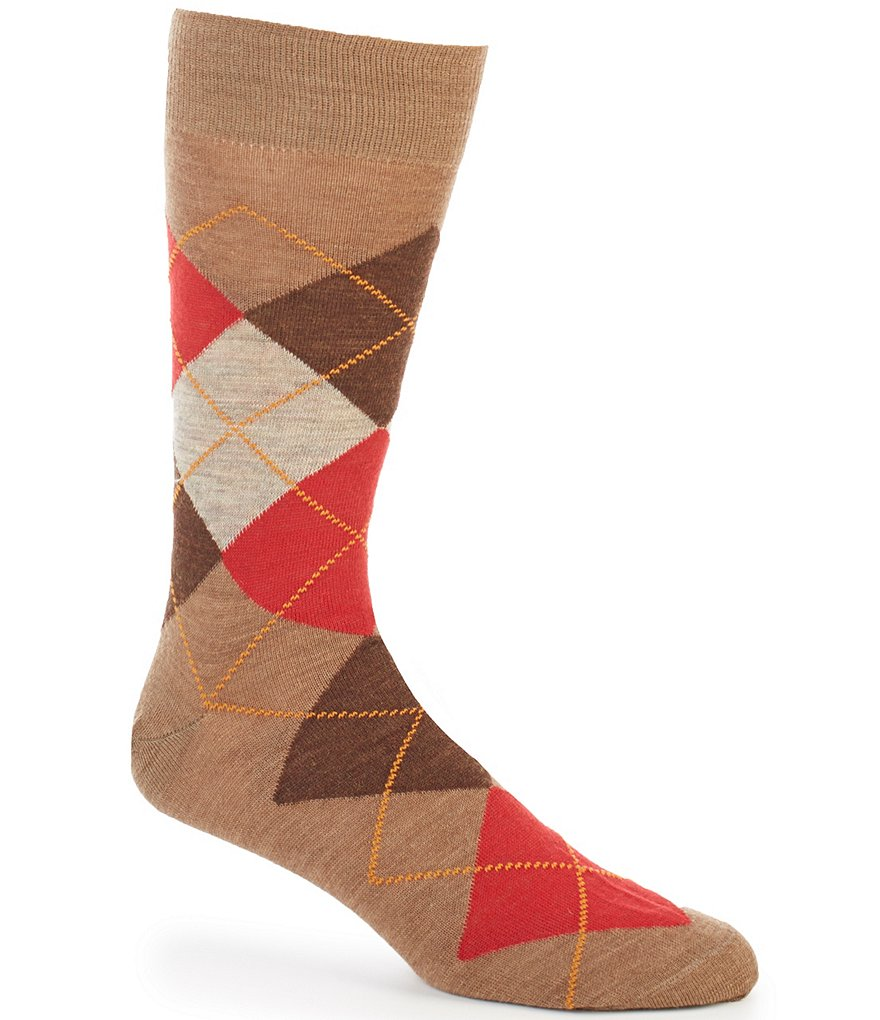 Cremieux Argyle Crew Dress Socks