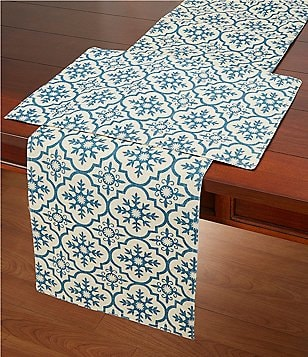 Homewear Malta Mosaic Print Table Linens