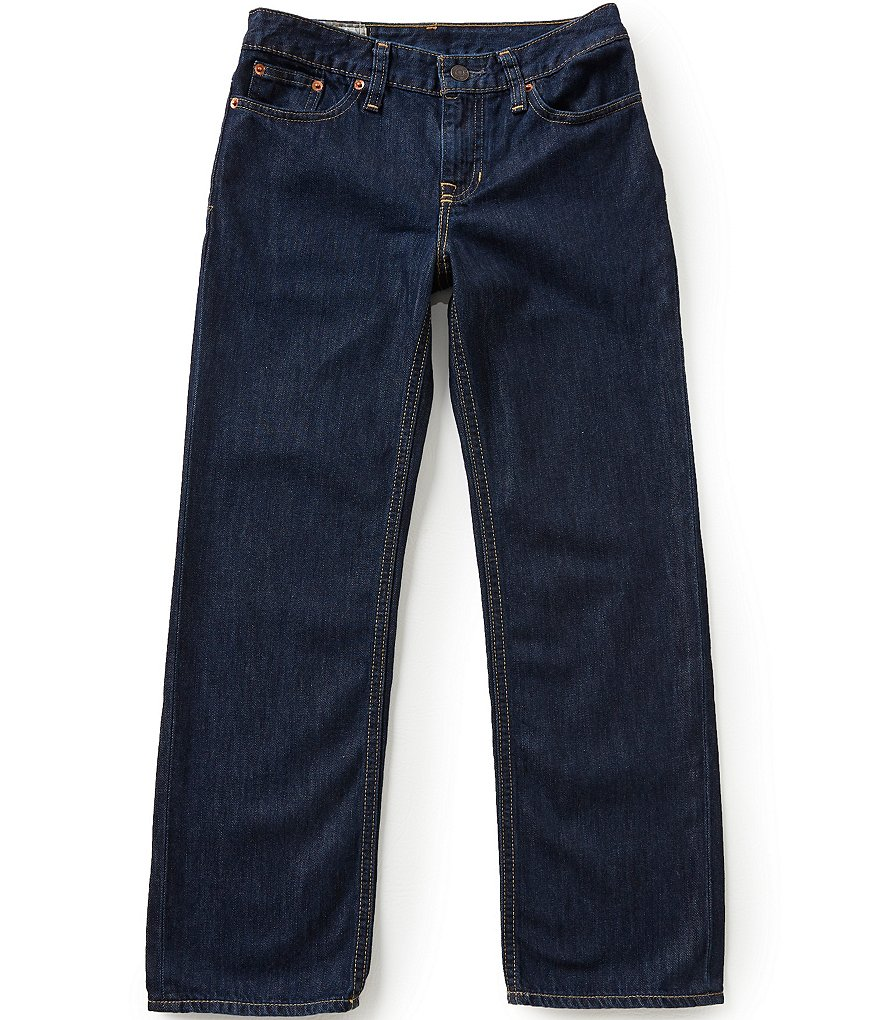 Ralph Lauren Childrenswear Big Boys 8-20 Husky Denim Jeans