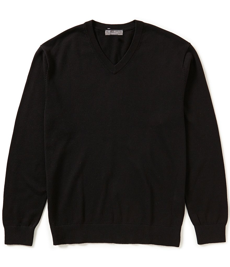 Daniel Cremieux Signature Supima V-Neck Sweater